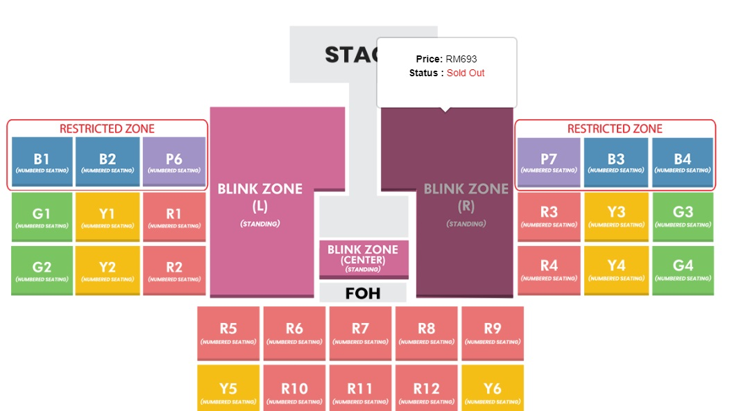Bahagian Tiket Sold Out