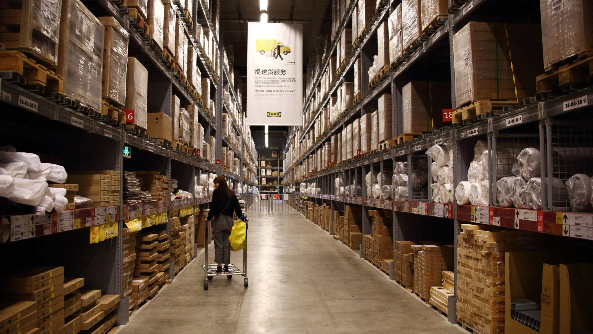 Shoppers Inside An Ikea AB Store As China Consumer Prices Rise Faster Than Forecast