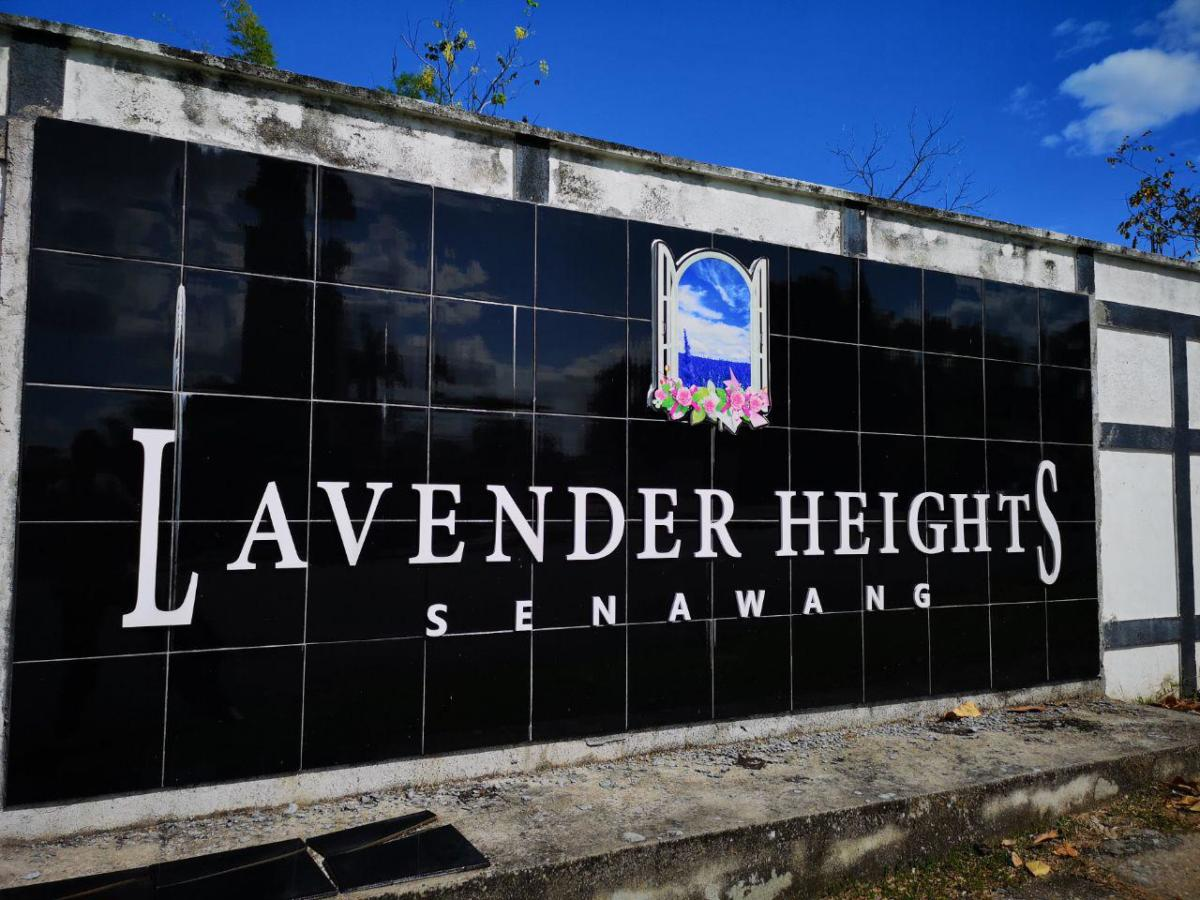 Lavender Heights Cover