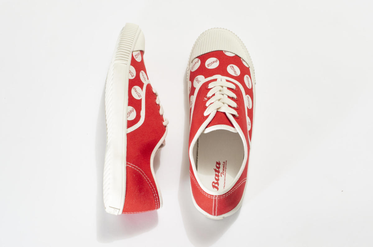 Image result for Bata heritage x coca-cola