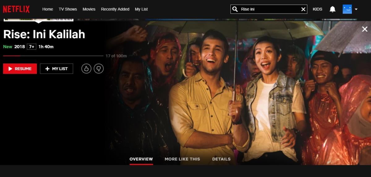 Netflix Rise