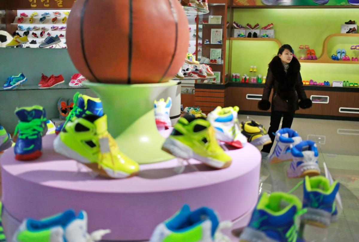 Sneakers North Korea 3