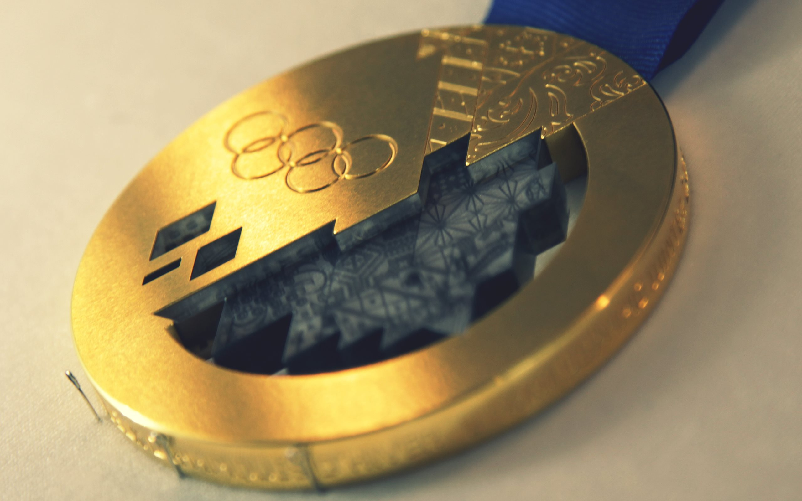 Sochi 2014 Olympic Winter Games Gold Medal