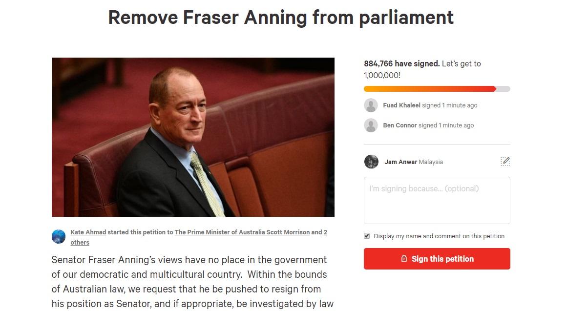Fraser Petition
