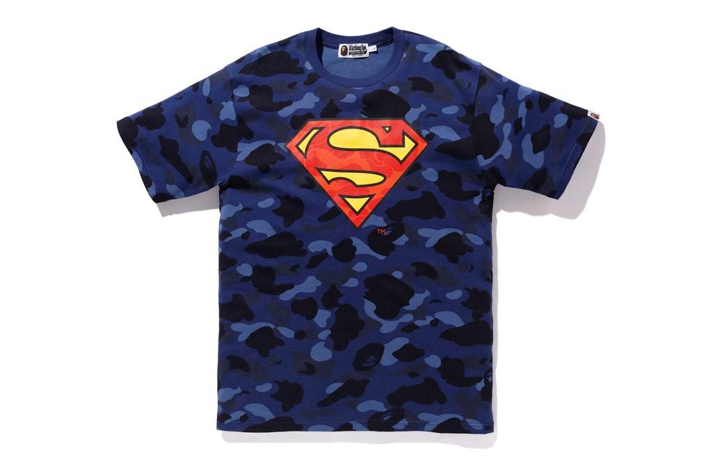 koleksi DC Comics x BAPE