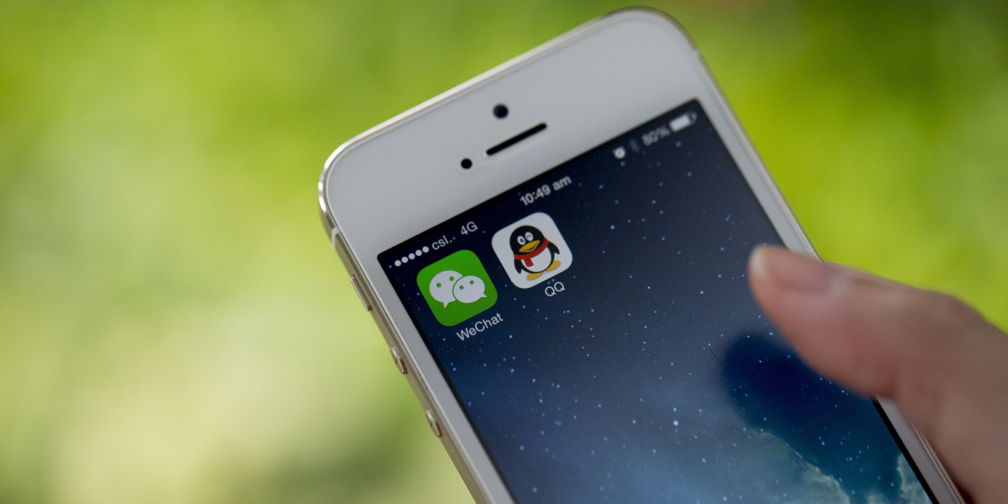 Images Of Tencent Applications As Second Quarter Earnings Are Released