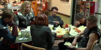 Avengers Makan Kebab