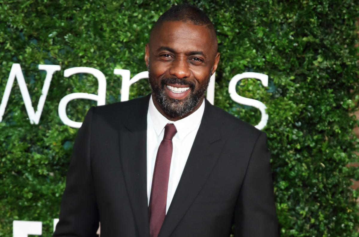 Cover Idris Elba