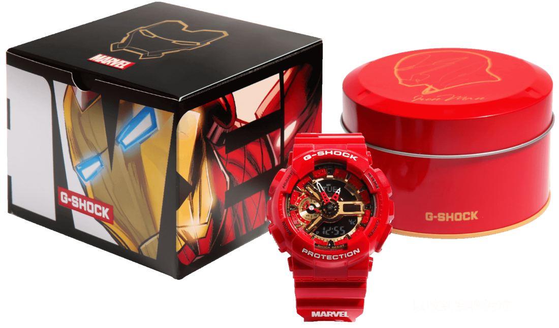 Jam tangan G-Shock x Marvel vckt