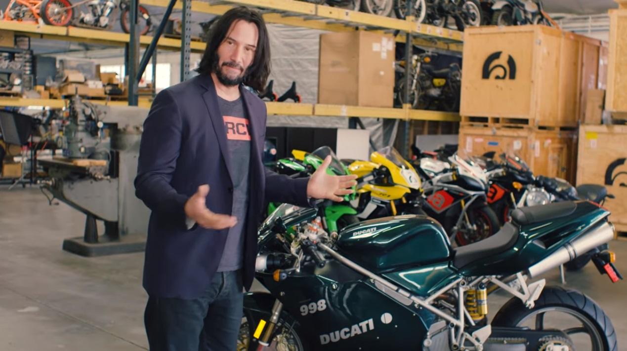 Keanu Reeves Motor