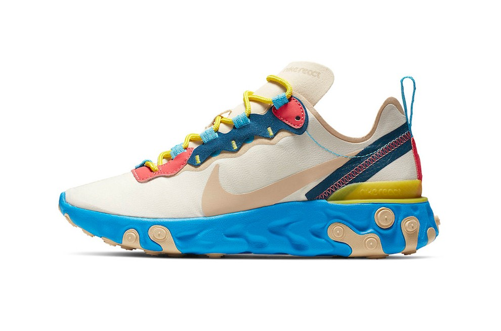 "Nike React Element 55 ""Electric Blue"" vckt"