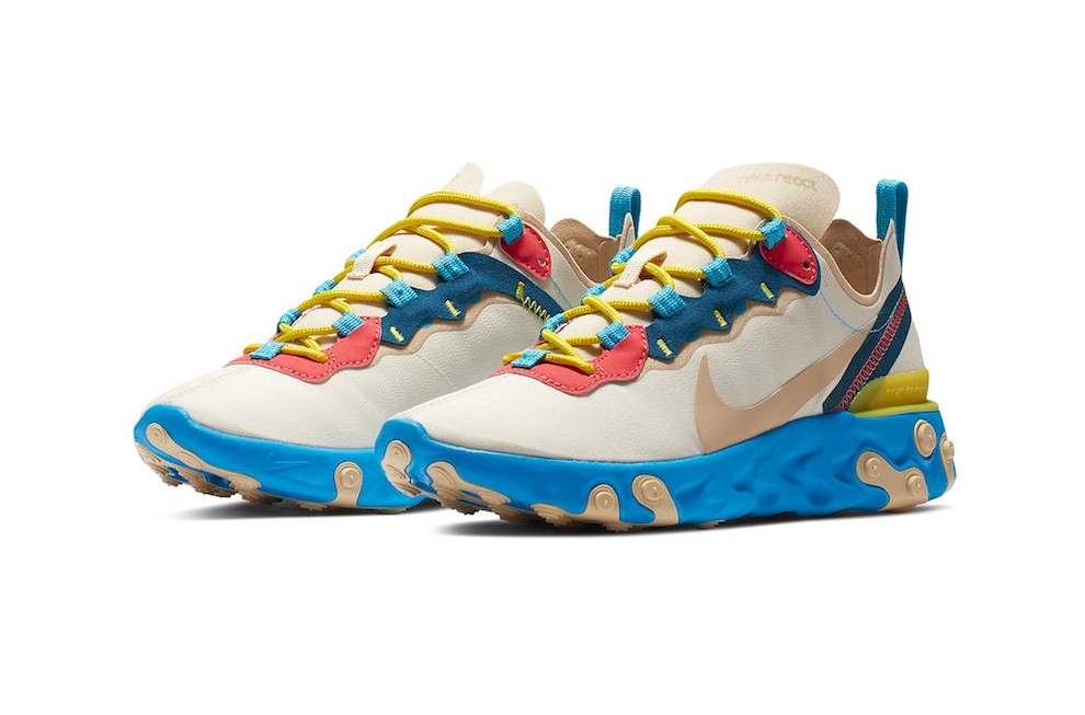 """Nike React Element 55 """"Electric Blue"""" vckt"""
