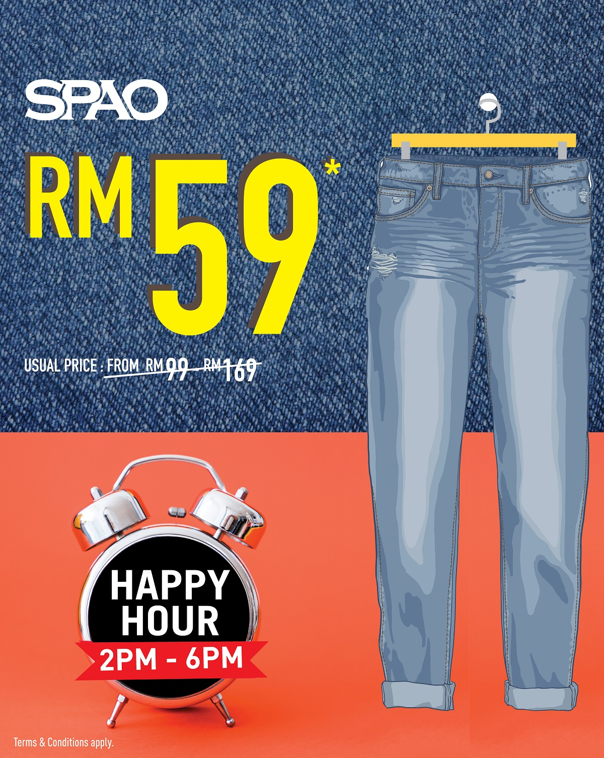 SPAO Happy Hour Denim_Sandwich Board-01