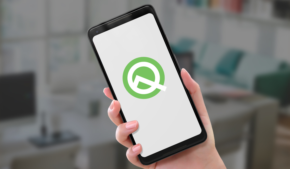 android Q beta vckt