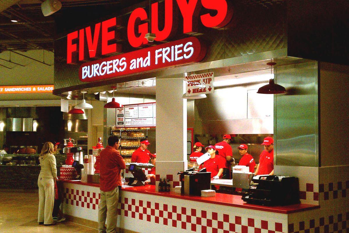 five guys burgers vckt