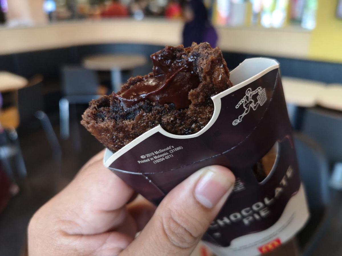McD Choco pie 3