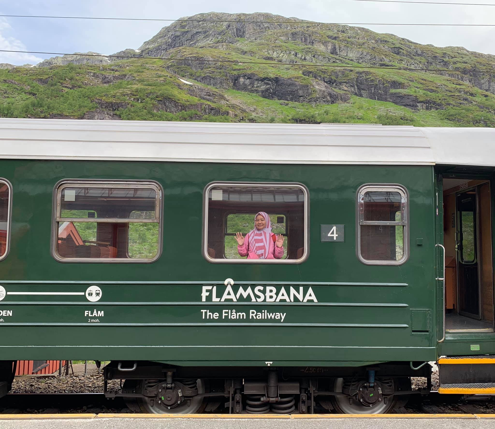 Flamsbana train-Norway
