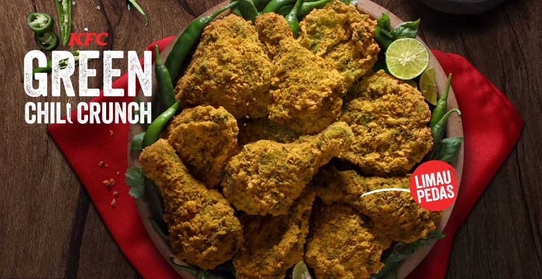 KFC Green Chili Crunch
