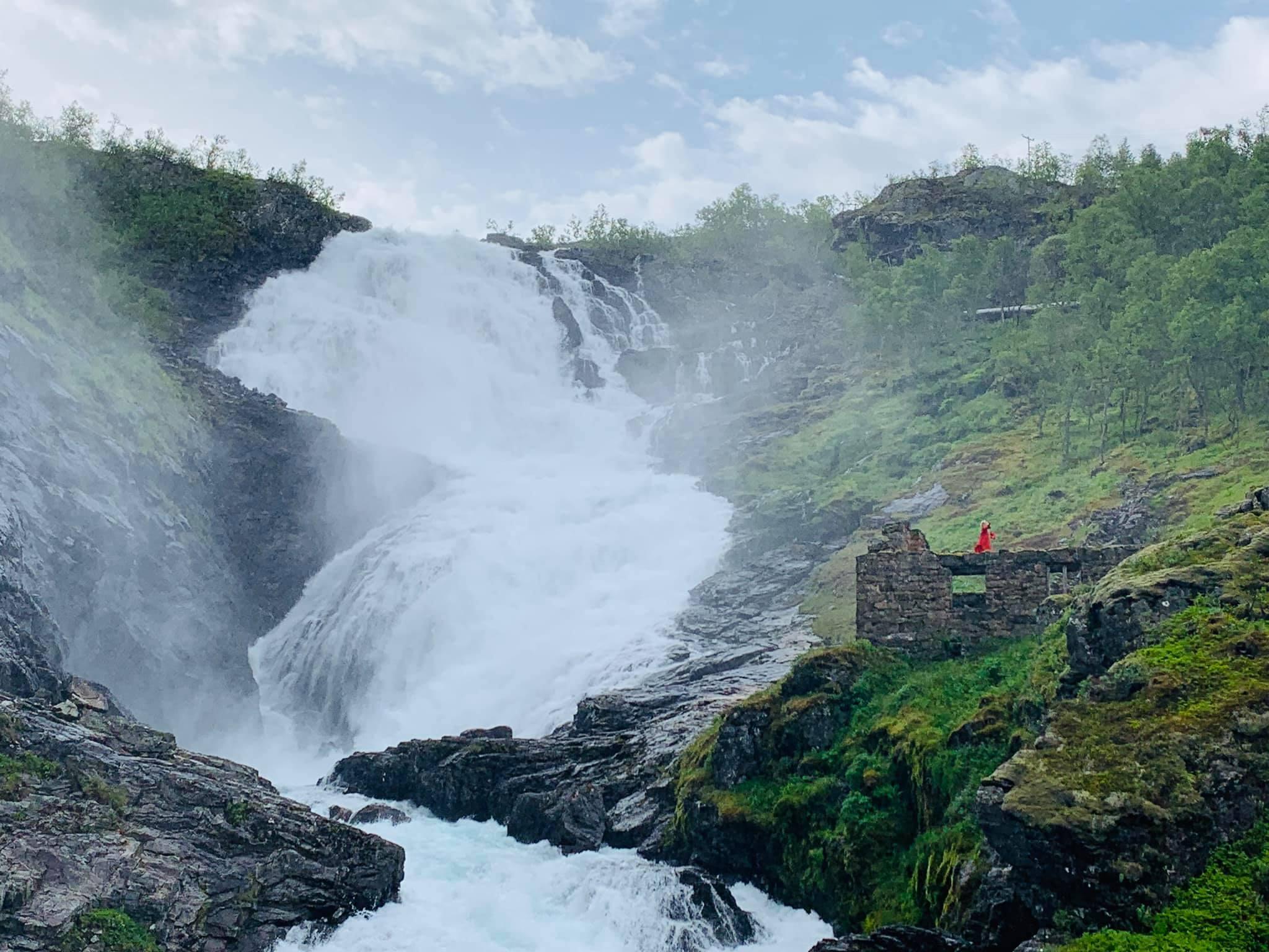 Kjosfossen Waterfall-Norway