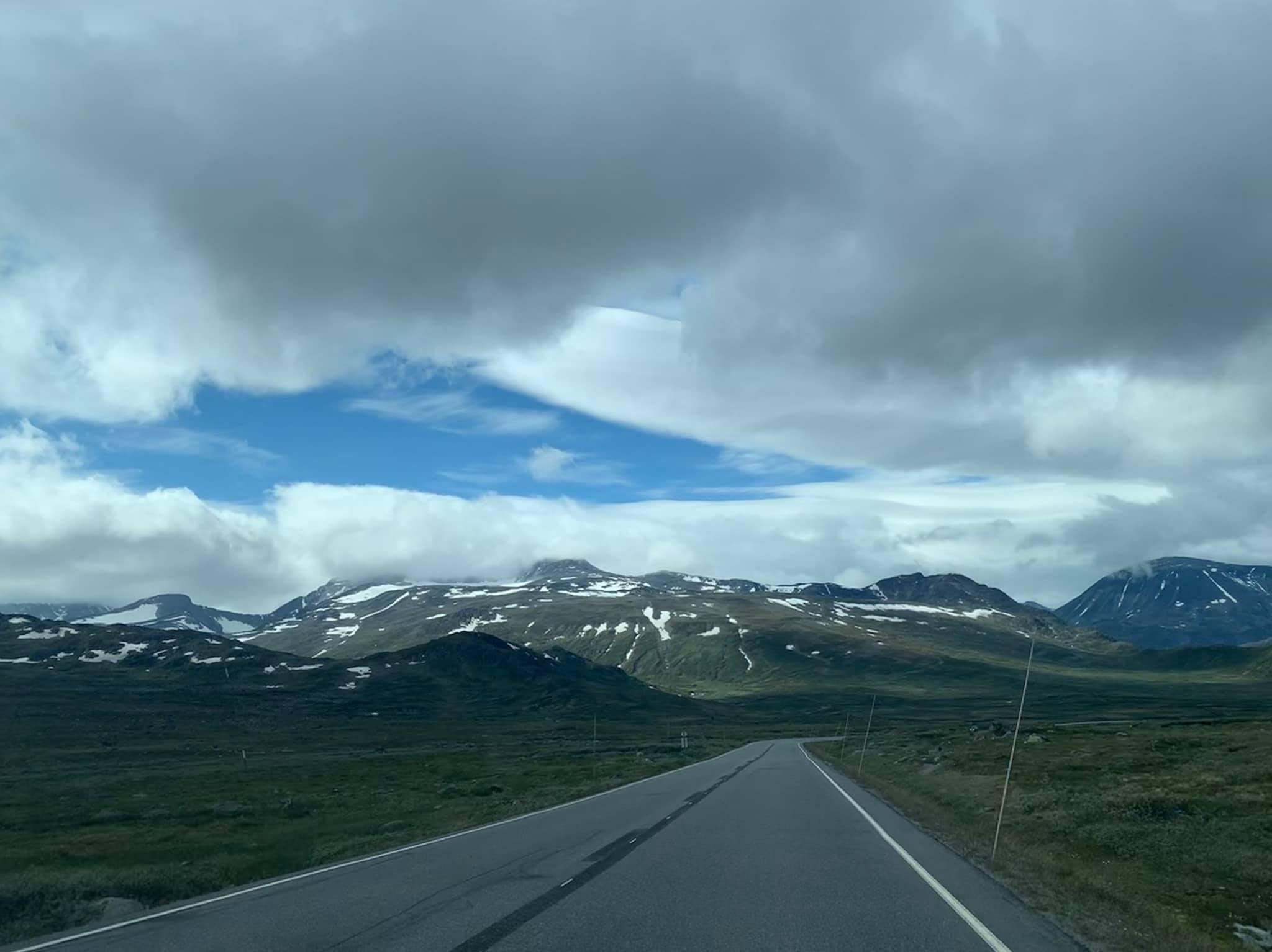 Norwegian Scenic Route Valdresflye