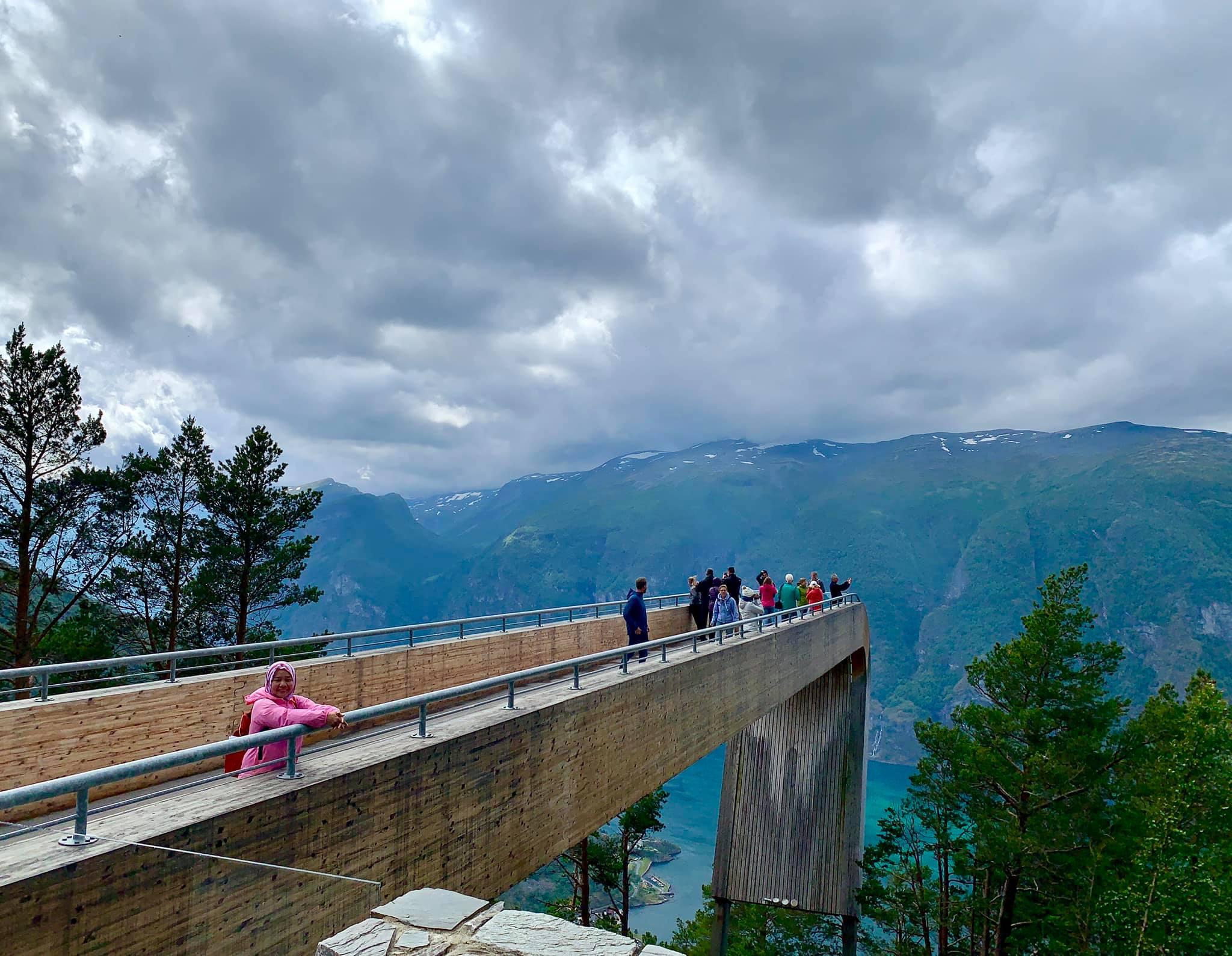Steigastein Viewpoint-Norway