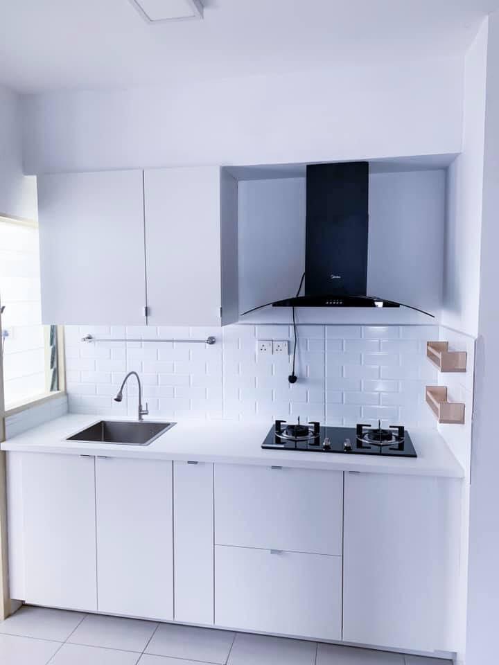 Lihat Makeover Dapur 7 Kaki Ini Daripada Barang Ikea Dengan Kos Bawah Rm3 000