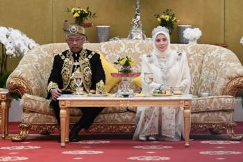 sultan abdullah raja permaisuri