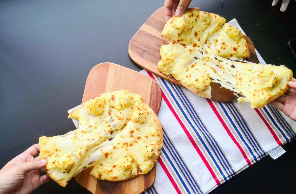 Durian Cheese Pizza 2
