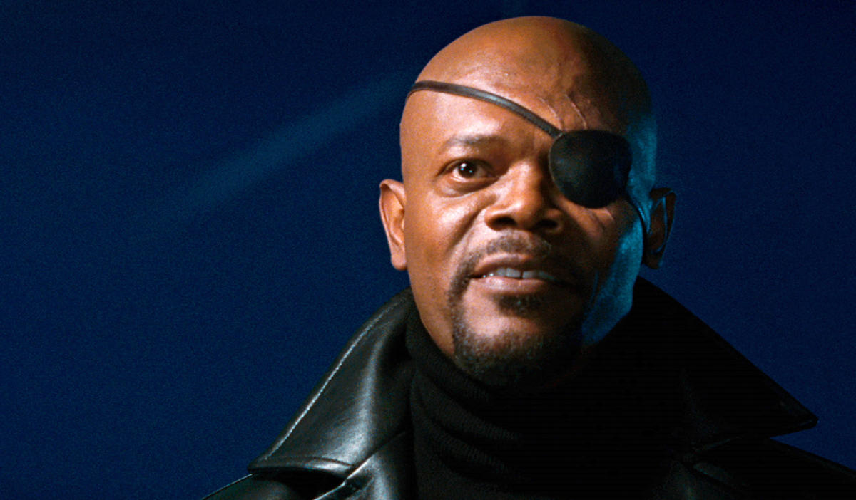 IRON MAN 12008Pictured: Samuel L. Jackson as Nick Fury