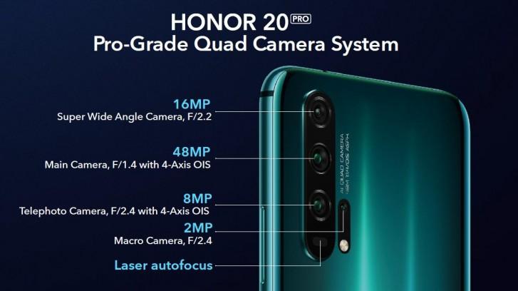 Honor 20 pro cam