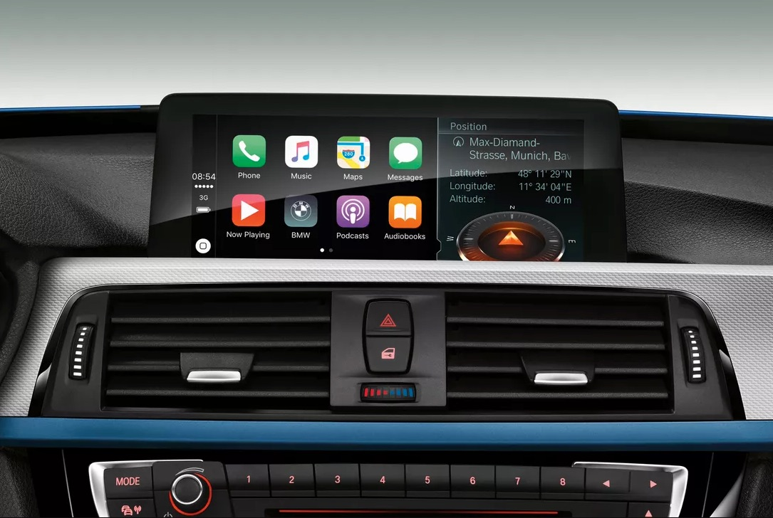 BMW Apple Car Play