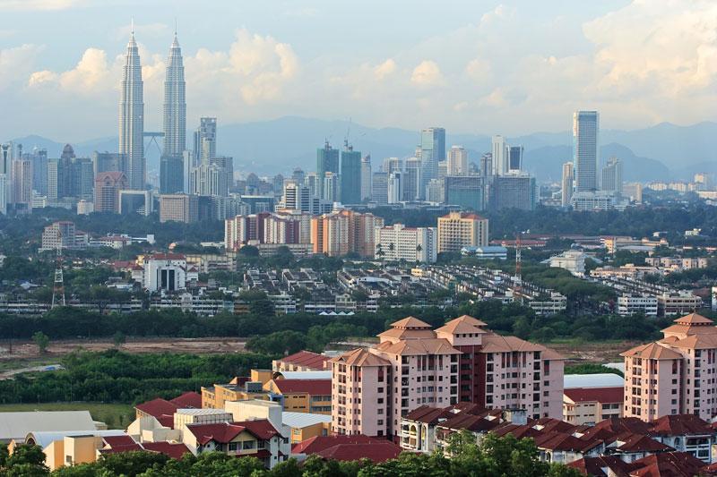 Skyline-Kuala-Lumpur-background-Malaysia-Petronas-Twin