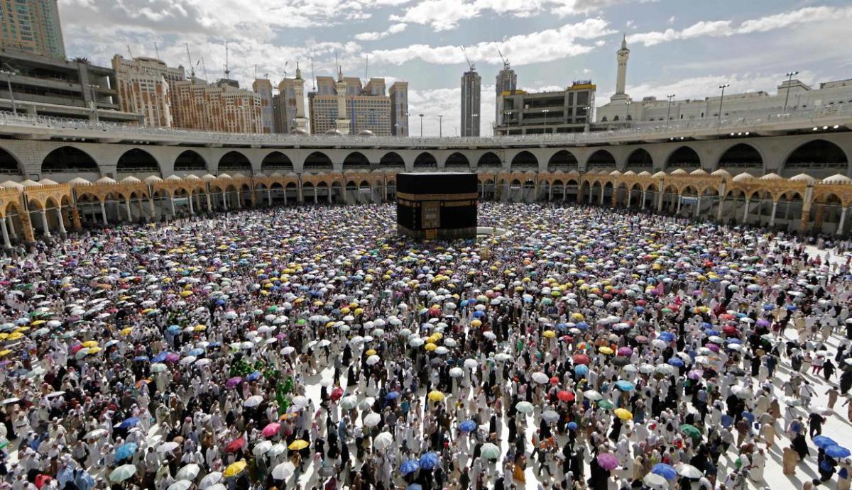 TOPSHOT-SAUDI-RELIGION-ISLAM-HAJJ