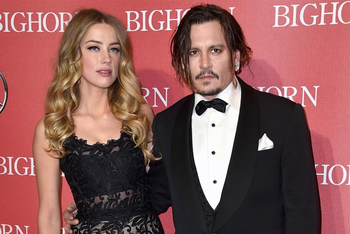 Johnny Depp Amber