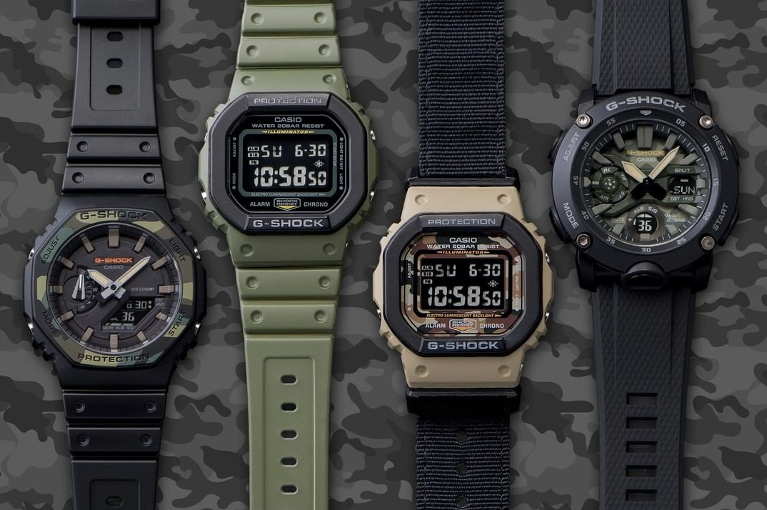 G-shock featured