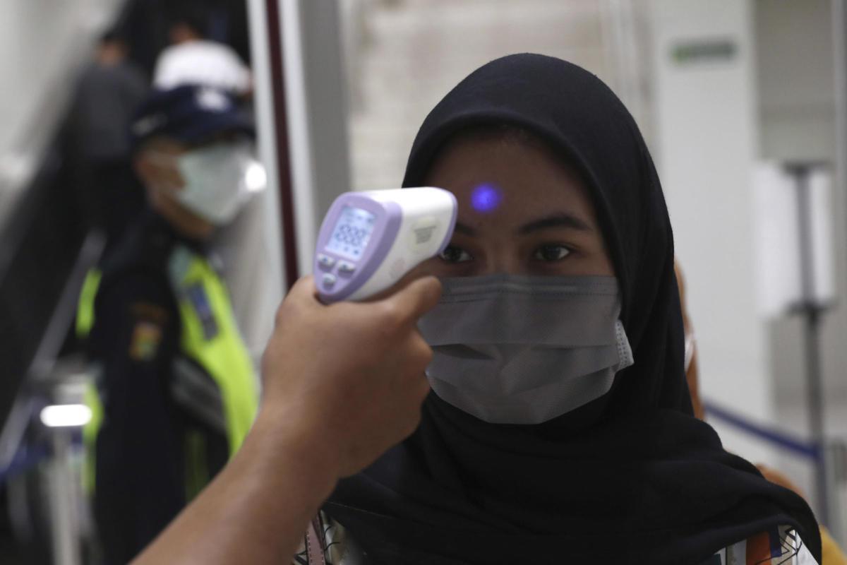 Virus Outbreak Indonesia