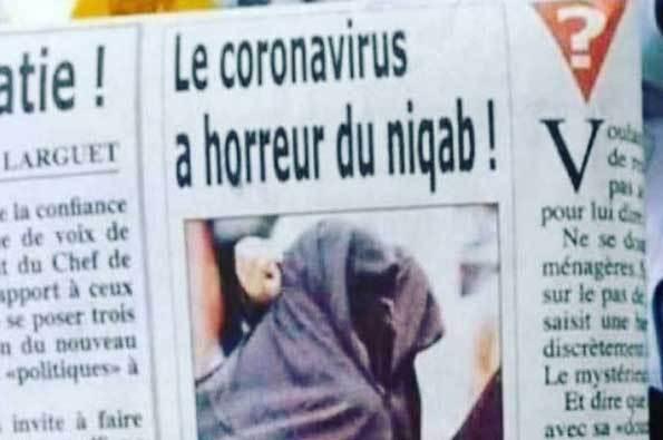 media-perancis-corona-dan-niqab