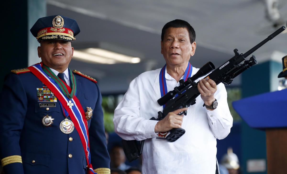 "Rodrigo Duterte, Ronald ""Bato"" Dela Rosa"