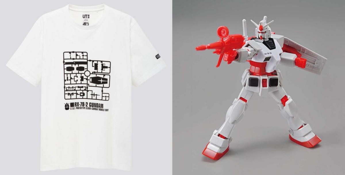 Uniqlo Gundam
