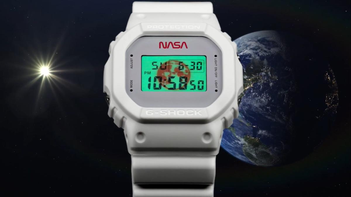 g-Shock Nasa cover