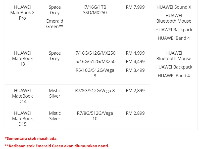 Huawei Matebook Pro 9