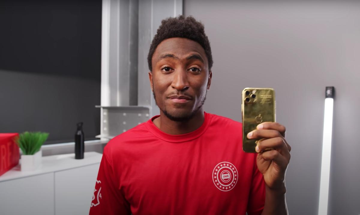 mkbhd iphone pablo escobar scam