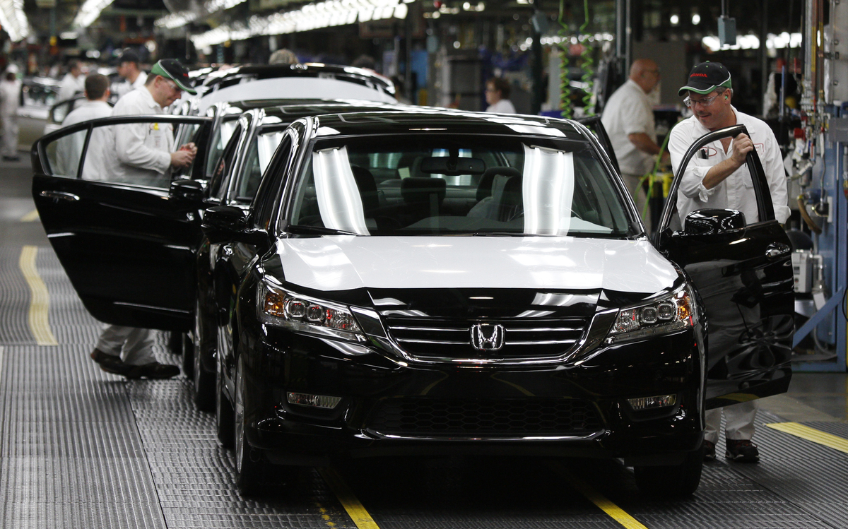 Honda Marks 30 Years of U.S. Auto Production