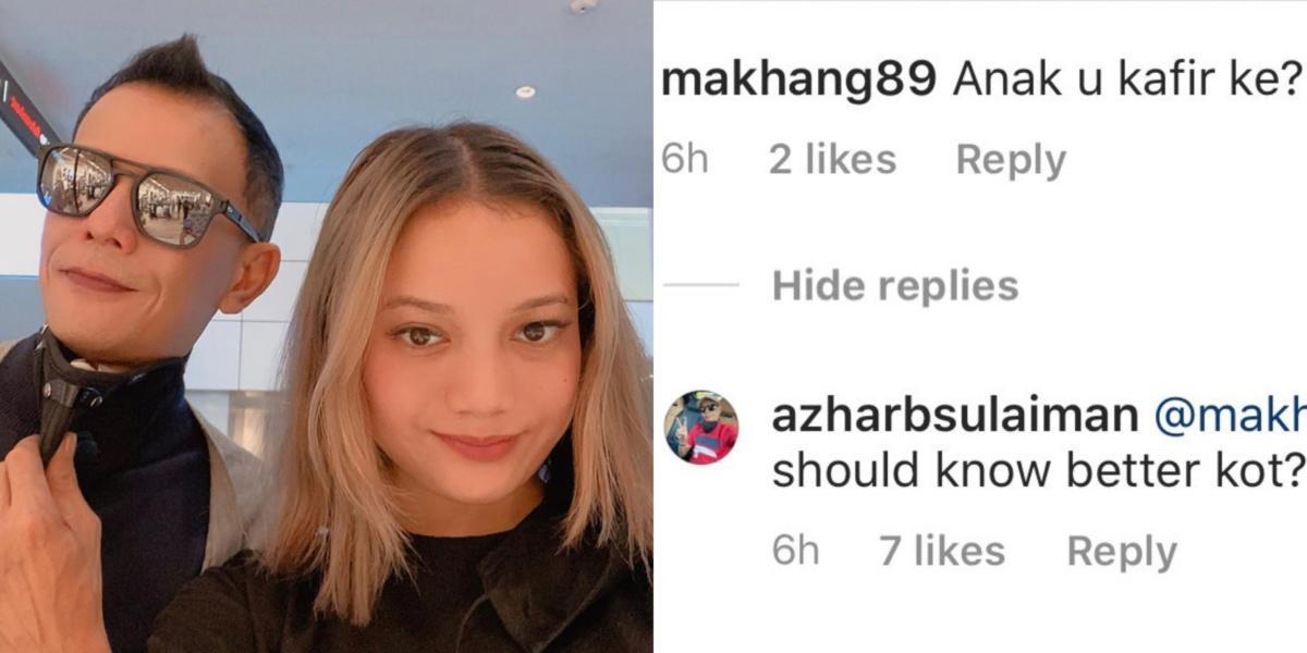 Azhar Sulaiman jawab komen