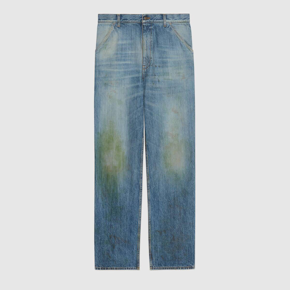 Gucci grass stain jeans  Credit: Gucci