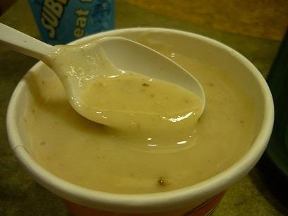 subway mushroom soup