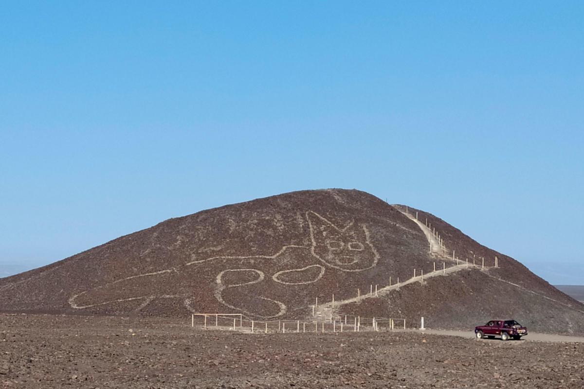 APTOPIX Peru Nazca Lines