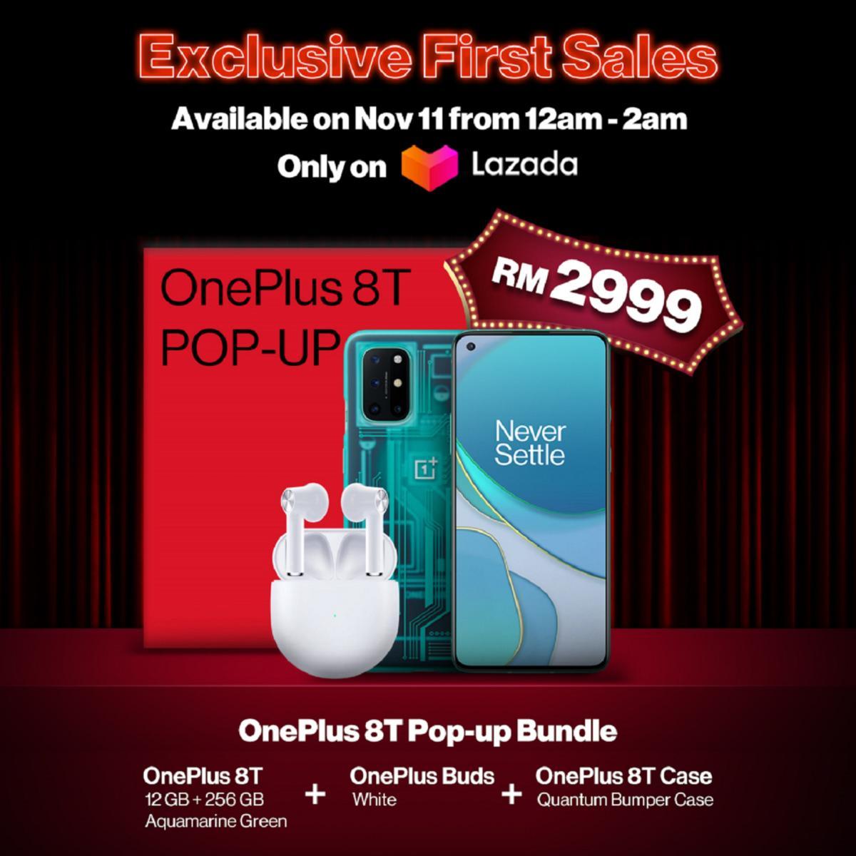 5. OnePlus 8T Pop-up Bundle – RM2,999