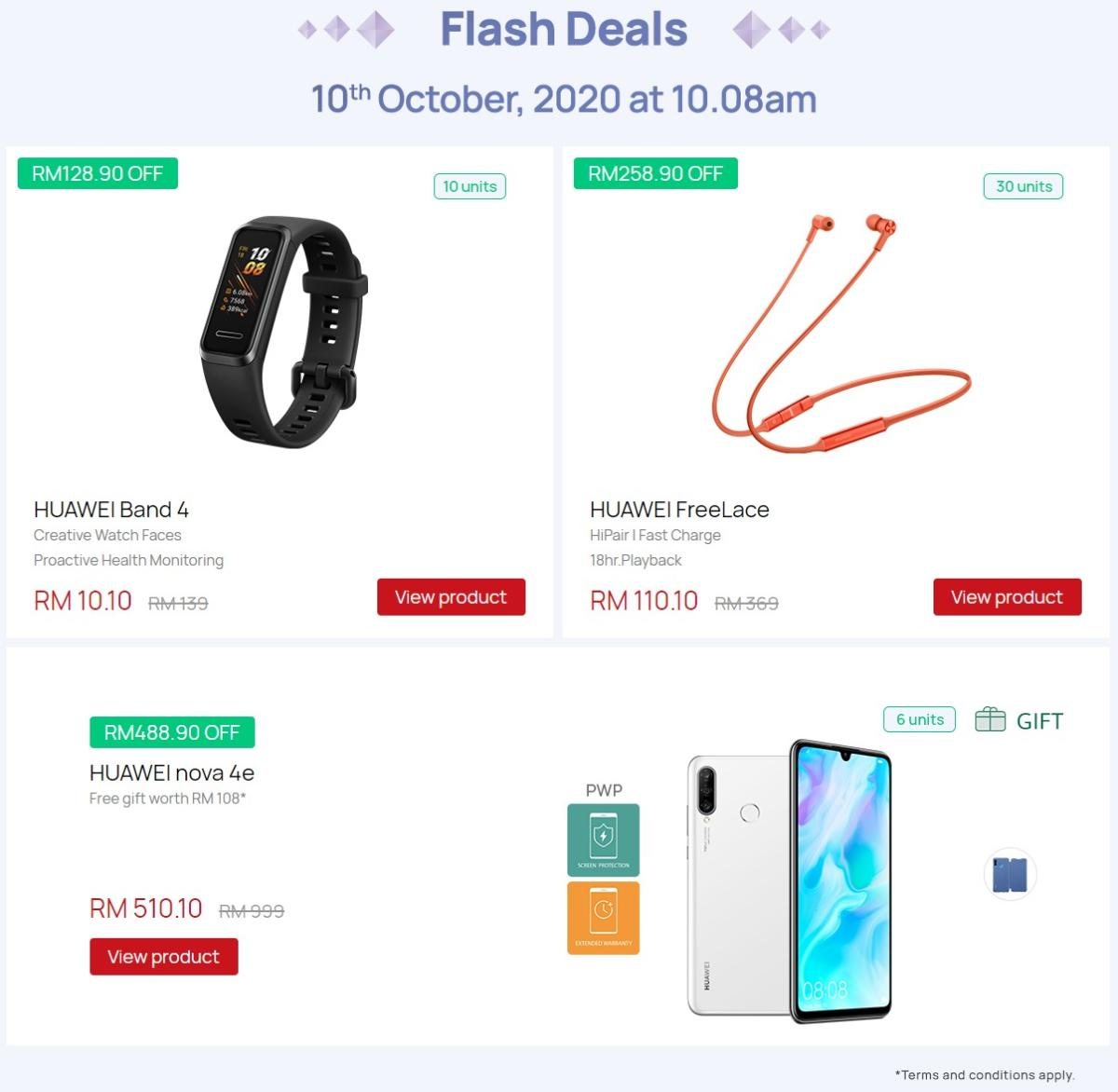 huawei flash deal