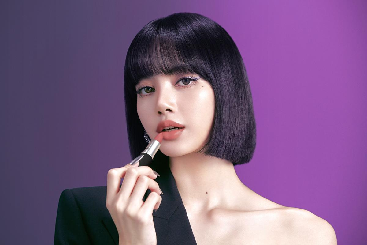 lisa blackpink mac campaign